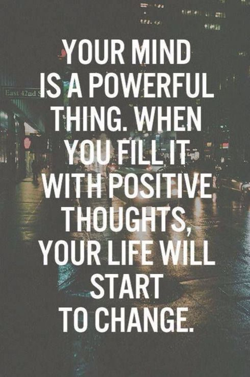 Your mind is more powerful than what you think! via Stephen Borgs
