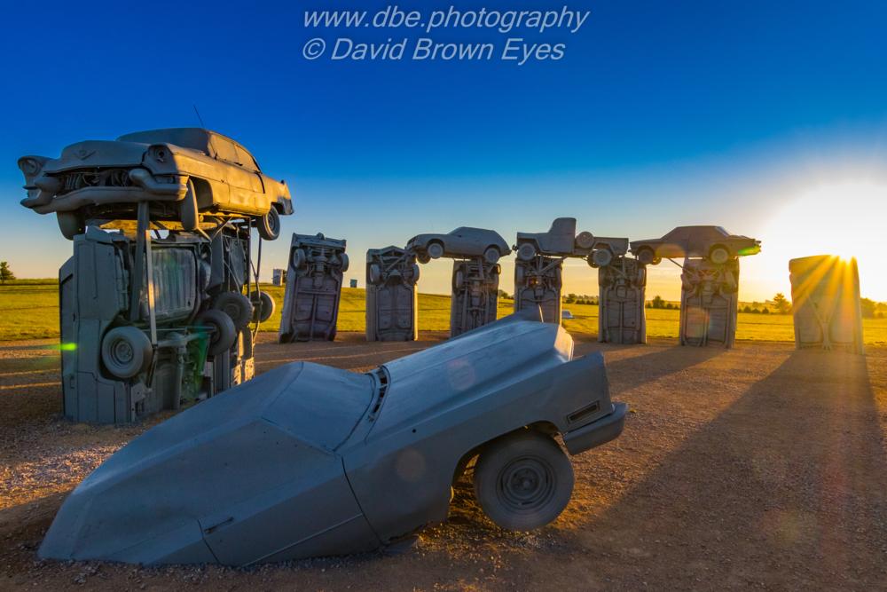 American Sacred Ground - Carhenge in Alliance Nebraska. This... via David Brown Eyes