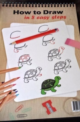 When children draw, they want to create an accurate likeness... via michael jones