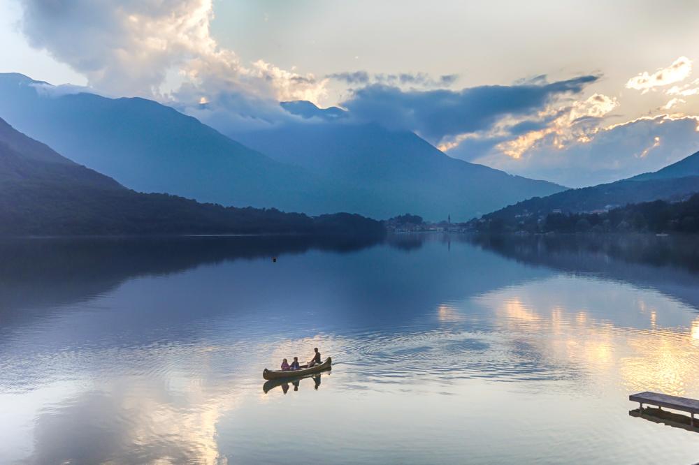 In the boat via Jean Michel