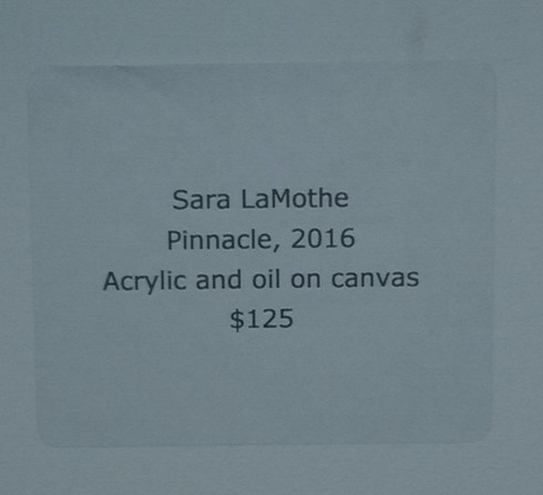 I was honored to be a part of my first Art Show. The theme w... via Sara LaMothe