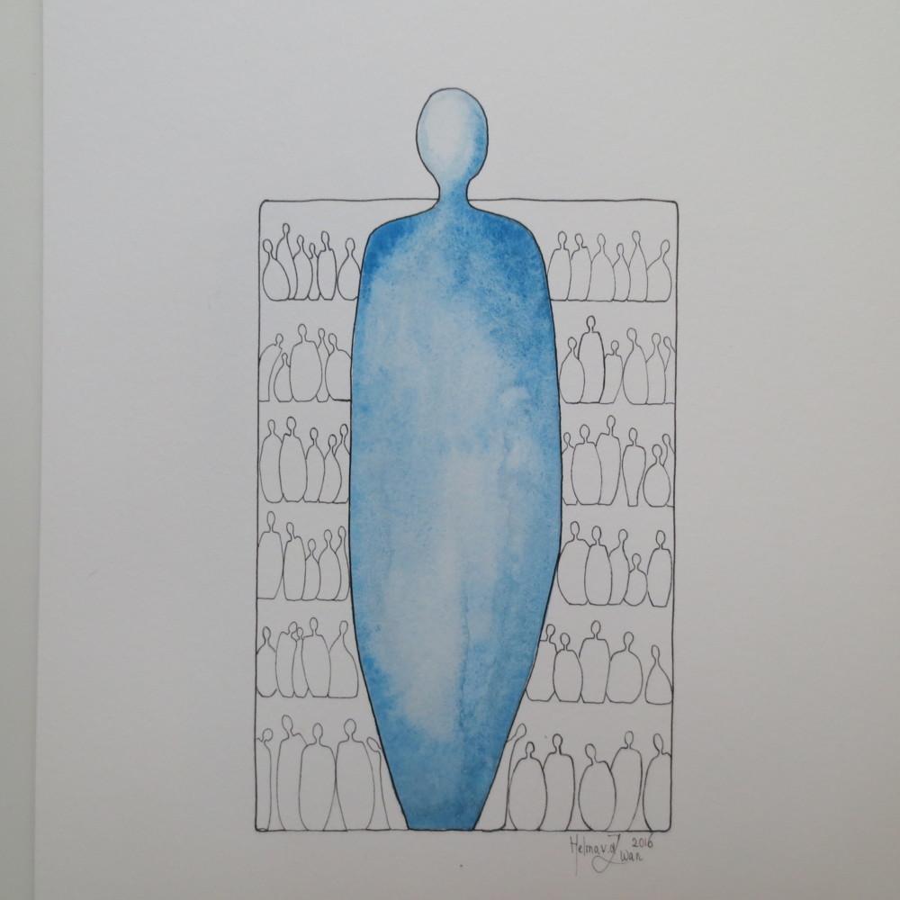Serie He and She via Helma van der Zwan