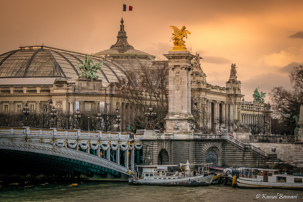 Parisian jewels (Alexandre III bridge, Grand Palais) via Kamal Bennani