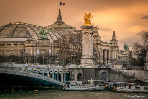 Parisian jewels (Alexandre III bridge, Grand Palais) via Kamal Bennani