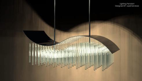 Pendant Lighting design via Opel Mendoza