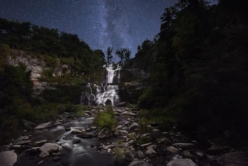 Chittenango Falls via Sashikanth R Chintla