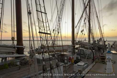 From this morning.  The S/V Dennis Sullivan is moored at Coa... via JamesMeyerMedia