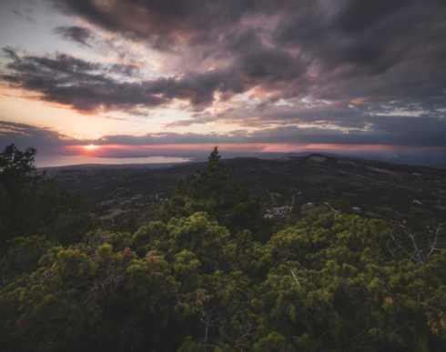 Mt  Chortiatis Sunset                                                                                                               #photography #nature #greece #travel... via Sakis Pallas