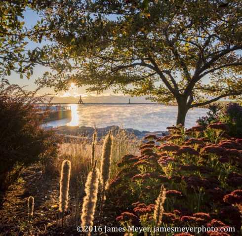 Good morning from Port Washington, WI. A little lake steam r... via JamesMeyerMedia