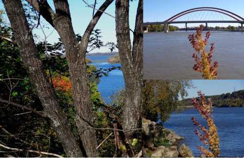 Fall Panorama - Mississippi River - Hastings, Minnesota via Ken Larson