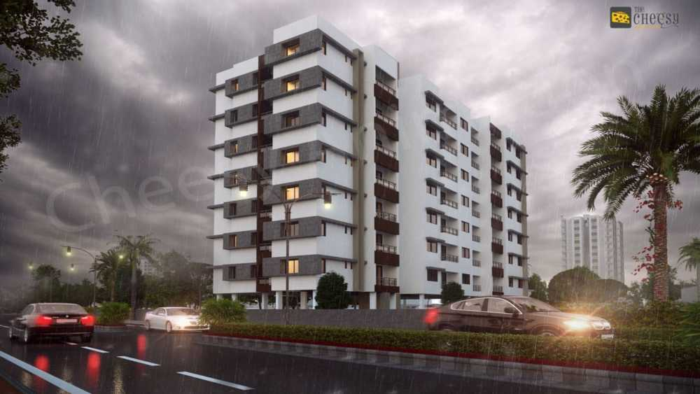 The Architectural Rendering comes up with prompts to give a ... via Vittoria Dmowska