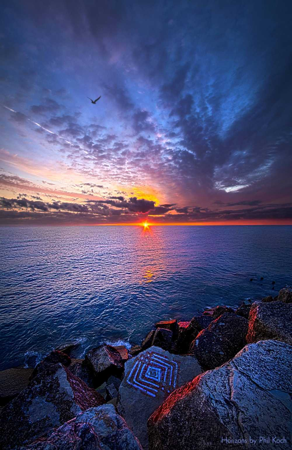 """The Stories You Tell""                                         On the shore of Lake Michigan.                                         Wiscon... via Phil Koch"