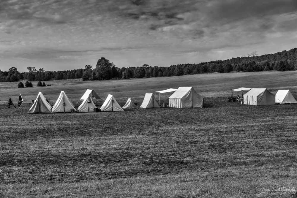 A portion on the Confederate Camp at Nash Farm Battlefield t... via Liam Douglas - Professional Photographer