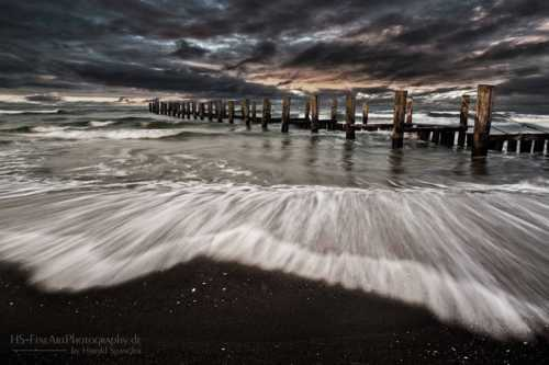 Thunderstorm...                                     Baltic Sea, Germany                                     HS-FineArtPhotography.de... via Harry Spangler