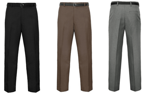 A wide range of formal trousers for men available online now... via Andrew Bennie