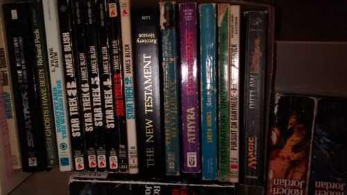 Libary book sale with an opinion via Dan Malakoff