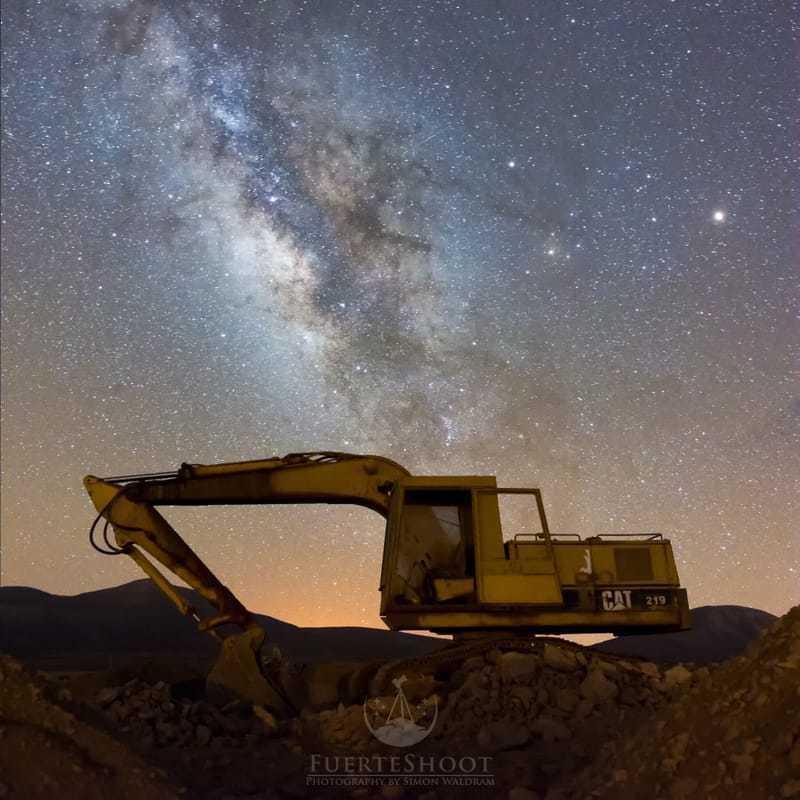 the big digger via Simon Lee Waldram