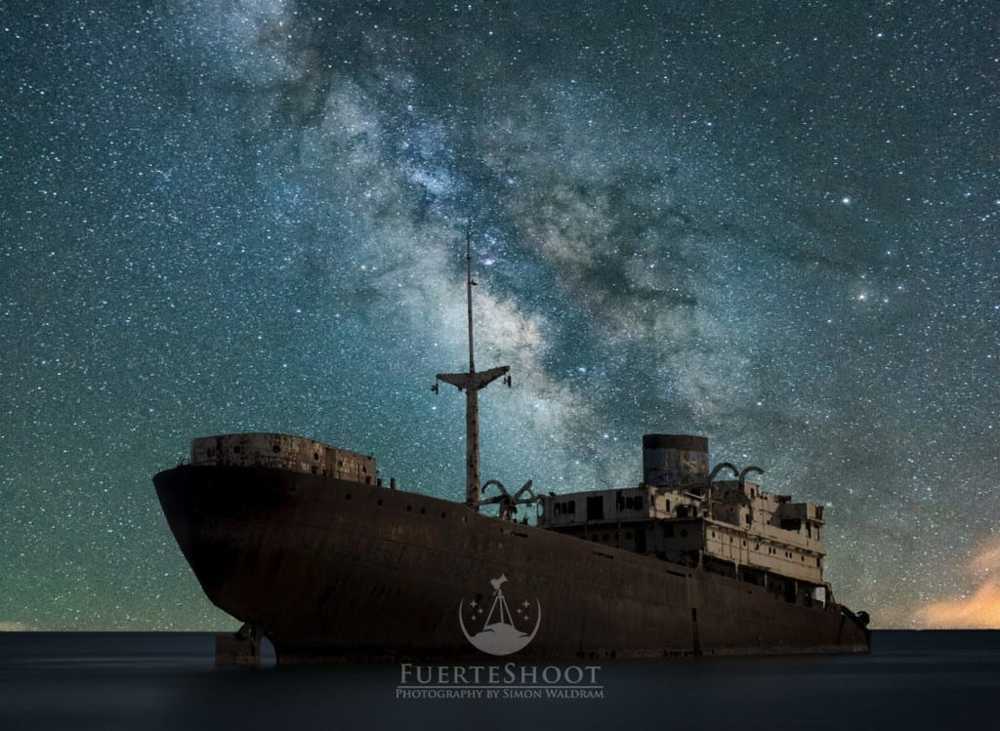 the ghost ship                                          this is the wreck of the temple hall just ou... via Simon Lee Waldram