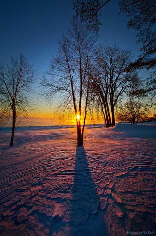 """In That Still Place""                                     Wisconsin Horizons By Phil Koch. via Phil Koch"