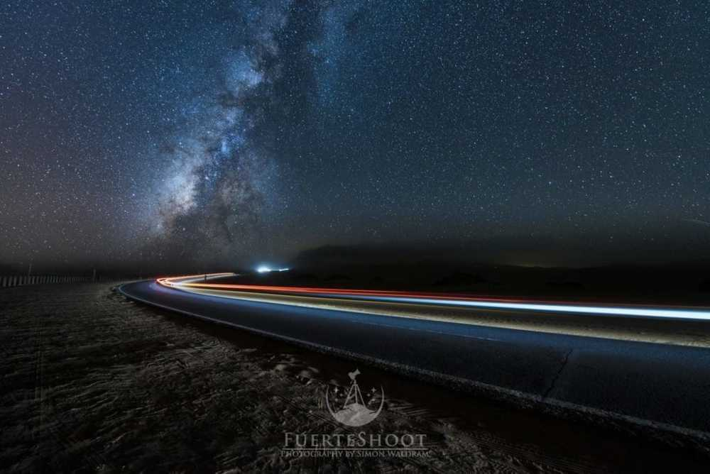 speed of light  this image  was shortlisted for astro photog... via Simon Lee Waldram