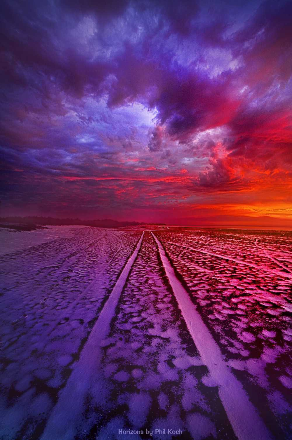 """""""To All Ends Of The World""""                                         Wisconsin Horizons By Phil Koch. via Phil Koch"""
