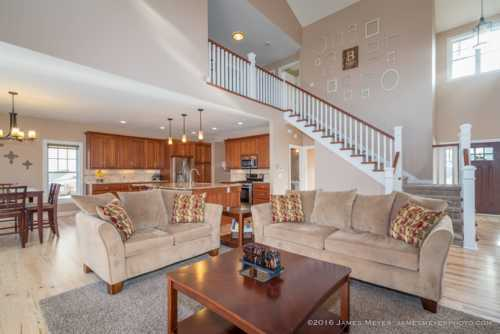 Living room of one of the homes I photographed for a client ... via JamesMeyerMedia