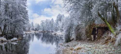 Bavarian Lights of Winter via Harry Spangler