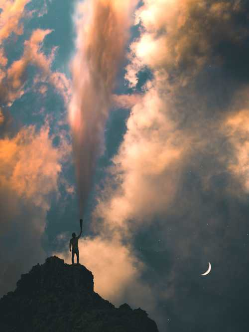 down in flames. via Simon Helms