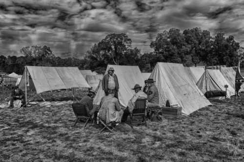 Still in B&W for the Re-enactment via Janice McGregor