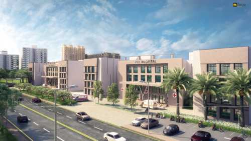 The Architectural Rendering just gives an idea of the overal... via Vittoria Dmowska