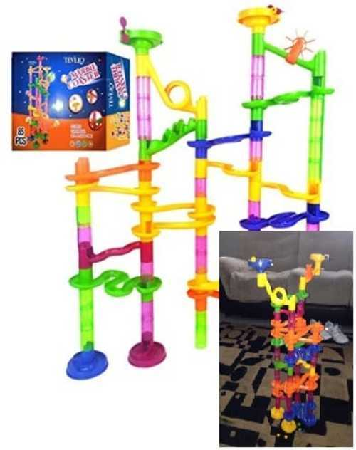 Marble Run Coaster 85 Set                                      This type of building helps devel... via michael jones