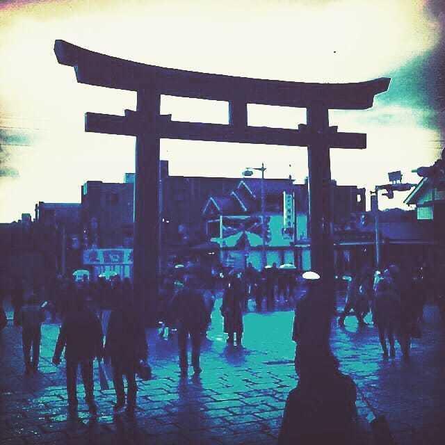 Kamakura, Japan in winter via Michael Q Todd